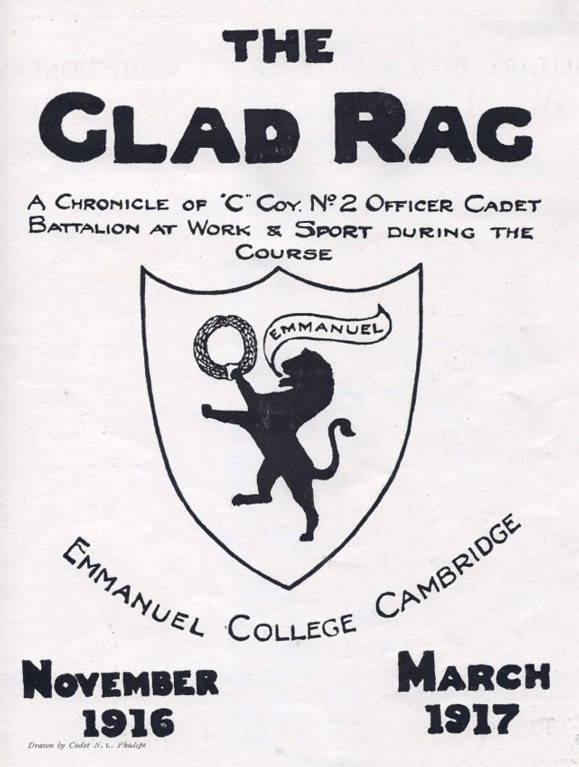 Front page of the Glad Rag