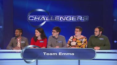 Image for the news item 'University Challenge Team on Eggheads!' on 14 Sep 2017