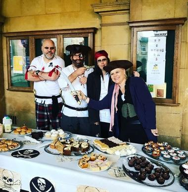 Image for the news item 'Ahoy! Pirate Porters raise a total of £750 for Children In Need' on 17 Nov 2017
