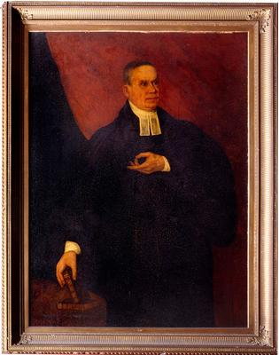 Painting of Unidentified Clergyman (122)
