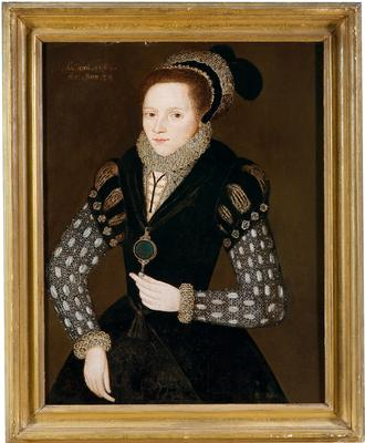 Painting of Unidentified Lady (123)