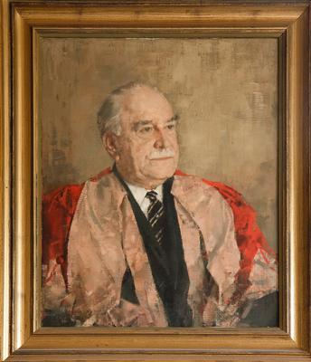 Painting of Norrish, Ronald George Wreyford (84)