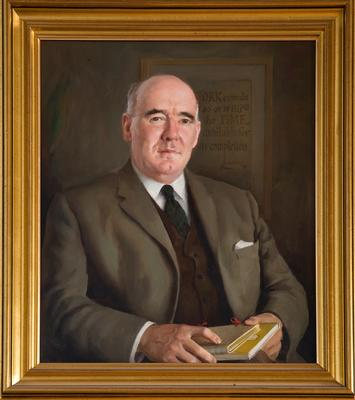 Painting of Parkinson, Cyril Northcote (85)