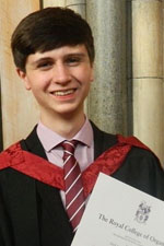 Photo of Junior organ Scholar