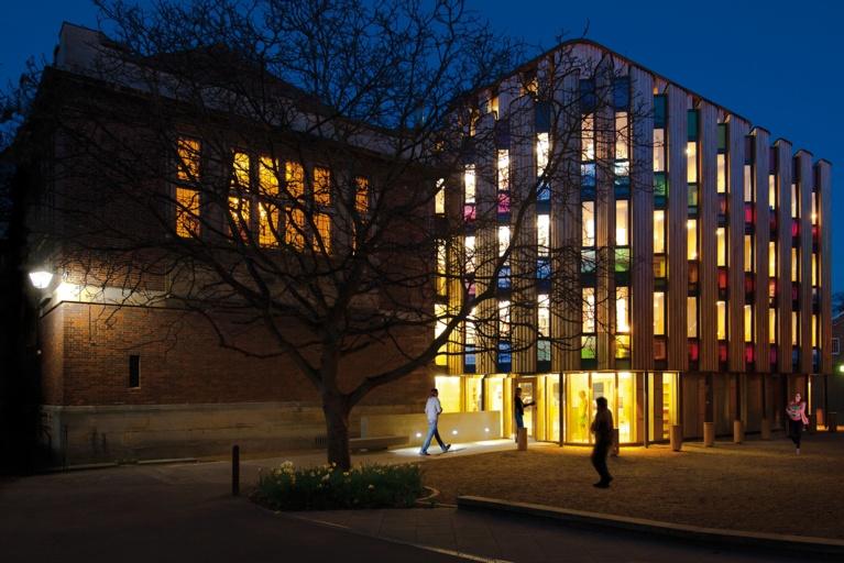 Library Emmanuel College Cambridge