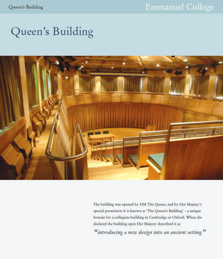 Image of Queen's Building brochure